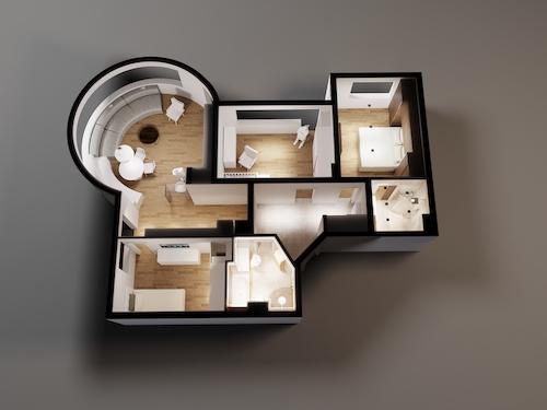 piso 3d