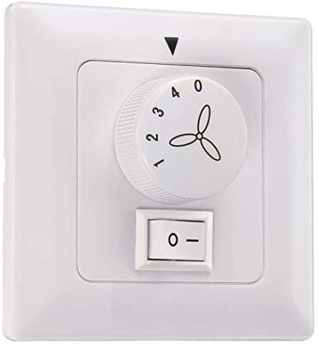 Ventiladores de techo con interruptor en la pared