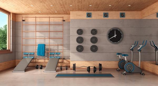 climatizar gimnasio en casa
