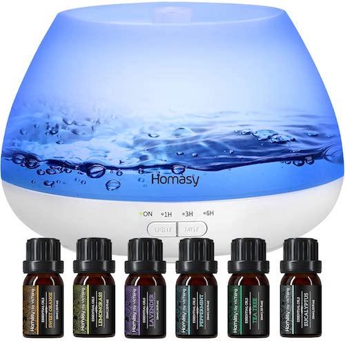 mejor humidificador aceites esenciales
